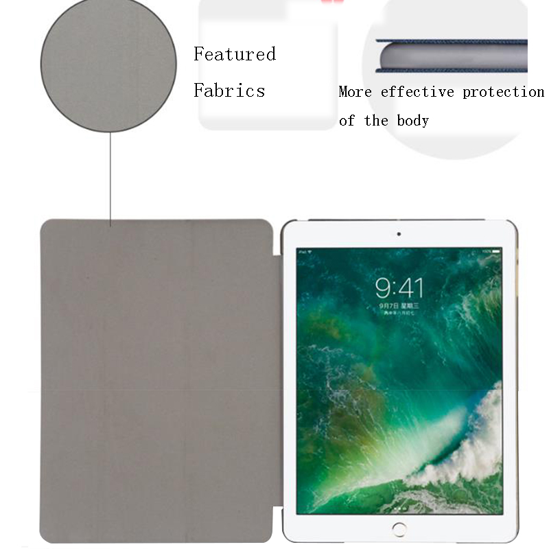 For Leather 10.2 2020 8 inch Trifold Stand Wake Smart Apple Auto Case iPad For Cover PU