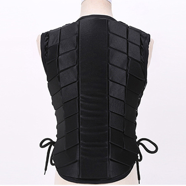 Adult Safety Body Protective Riding Armor Equestrian Sports EVA Padded For Male/Female,  4