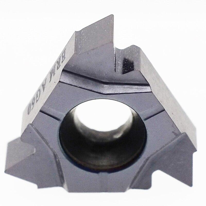 Preço com Desconto Carboneto de Rosca Inserções para Cnc Externo Aço Inoxidável Torneamento Ferramentas Suporte Mzg 16ermag60 Zm860 Iso