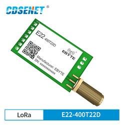 E22-400T22D SX1268 Neue LoRa Modul 433MHz 22dBm IoT Modul Relais Networking UART Interface Lange Range Sender und Empfänger