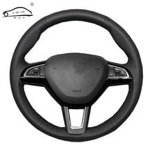 غطاء عجلة القيادة لسكودا اوكتافيا 2017 فابيا 2016 2017 السريع Spaceback 2016 رائع (3 تكلم)/سكودا اوكتافيا 2015 السريع اليتي