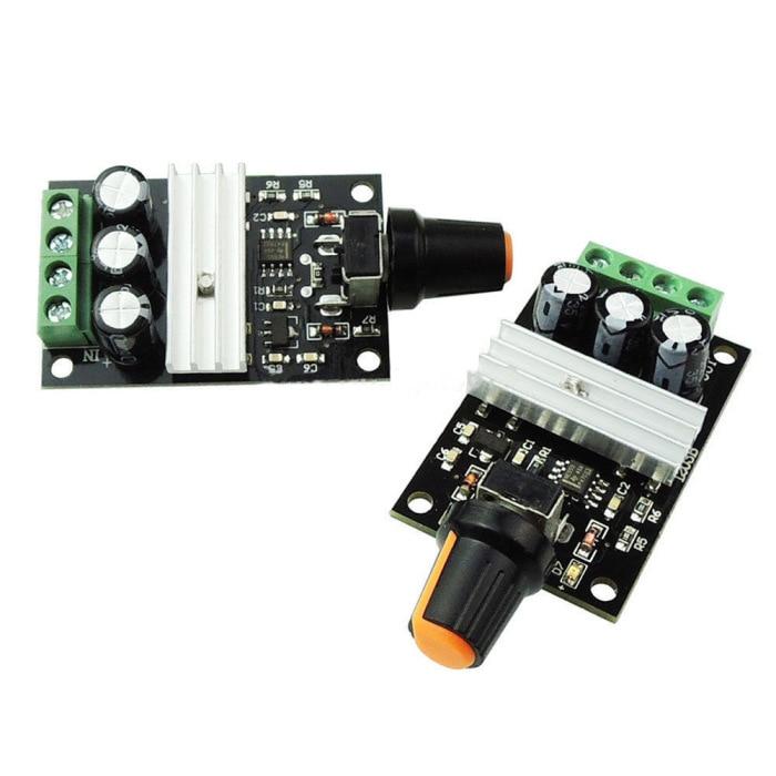 H34a224d5c7134b58ab5143f06246fceei - New DC Motor Speed Switch Regulator Controller PWM Variable Adjustable 6V 12V 24V 28V 3A SCI88