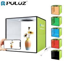 PULUZ 새로운 라이트 박스 미니 접이식 사진 스튜디오 박스 사진 LED 30cm 라이트 박스 슈팅 텐트 키트 및 6 색 배경