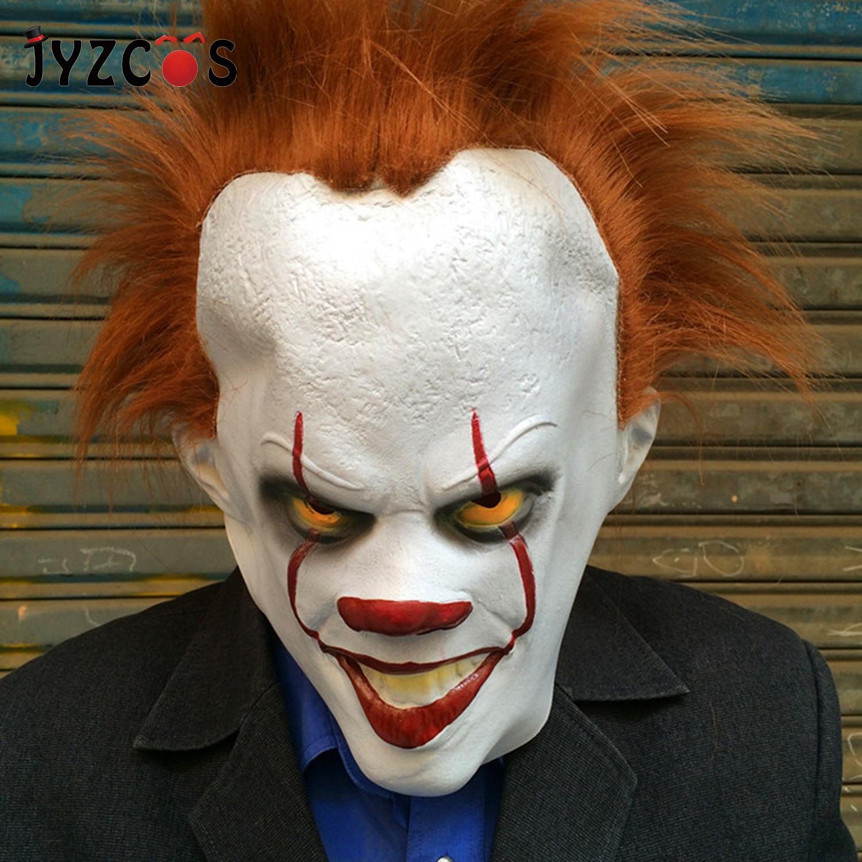 JYZCOS Halloween Masks Clown Back Soul Mask Devil Game Head Set 2019 New Festival Ghost Props Horror