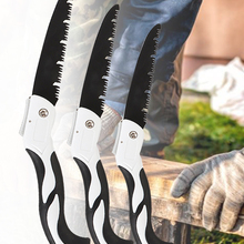 U-type Turbine Folding Pruning Saw Woodworking Cutting Tool Collapsible Safe Garden Tools for Outdoor