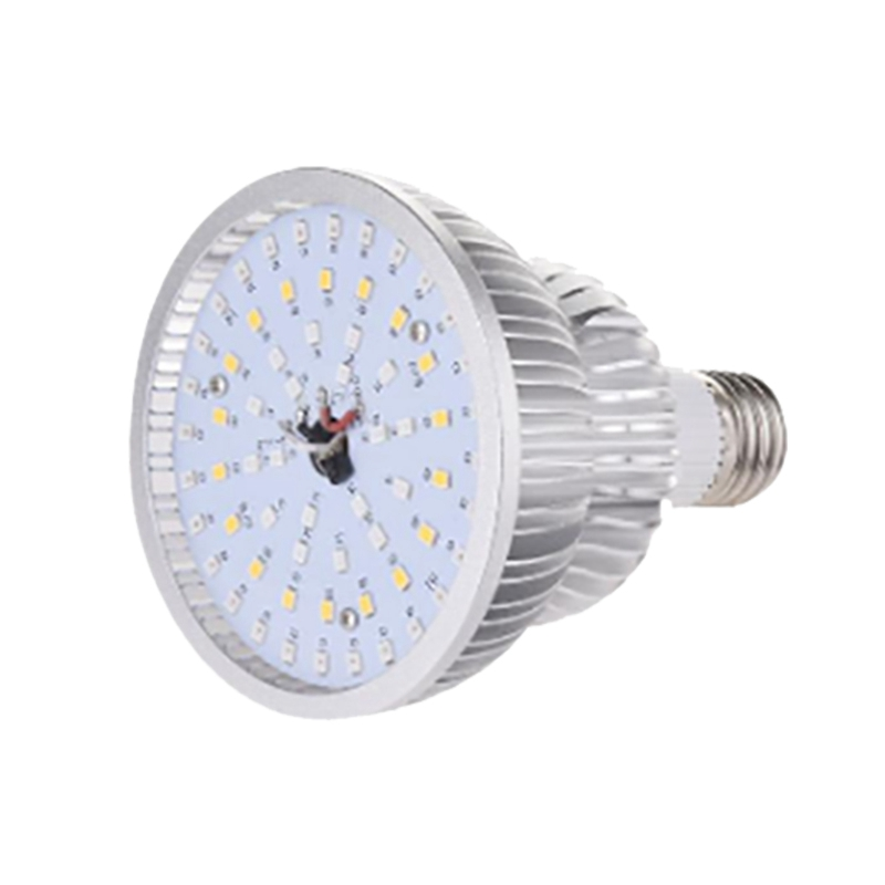 E27 Timing P30 Remote Control Plant Fill Light 50W 64LED High Power Red Light / Blue Light / Sunlight Toning Plant Light