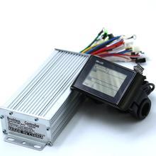 Greentime 48V 60V 1500W 45A бесщеточный контроллер двигателя постоянного тока контроллер электровелосипеда+ SW-lcd дисплей один комплект