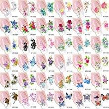 Алиэкспресс Лидер продаж стиль ногтей водная переводная Наклейка 3D наклейки для ногтей стерео элегантная наклейка с цветком для ногтей