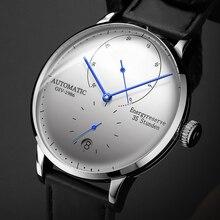 GIV Mechanical Business Watch Men Luxury Luminous Stainless Steel Strap Wrist Me