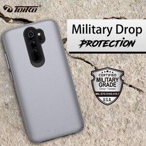 Image 5 - TOIKO X Guard 2 en 1 coque arrière antichoc pour xiaomi Redmi Note 8 Pro coque en TPU PC robuste armure protection téléphone accessoire coque