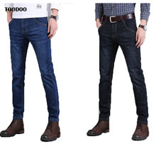 2020 Top Selling Winter Men Thick Jeans Very Soft Denim Fabric High Density Moisture Wicking Man Pants Quality Garrentied Jeans(China)