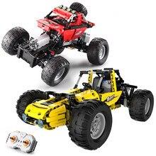 522 sztuk pilot wspinaczka ciężarówki samochód wyścigowy klocki do budowy miasta Racer pojazdu cegły zabawki prezenty dla dzieci dzieci