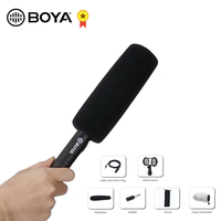 BOYA BY PVM1000 Professional Broadcast Quality Condenser Microphone for Camcorder Video DSLR Camera Mic 3 pin XLR Output