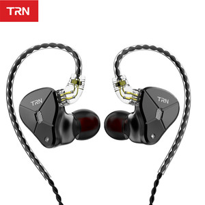Image 2 - NEW TRN BA5 5BA HIFI Earphone 10 Unit Balanced armature In Ear Earphones Metal Monitor Headset Noise Earbud Earphone V80 ZSX V90