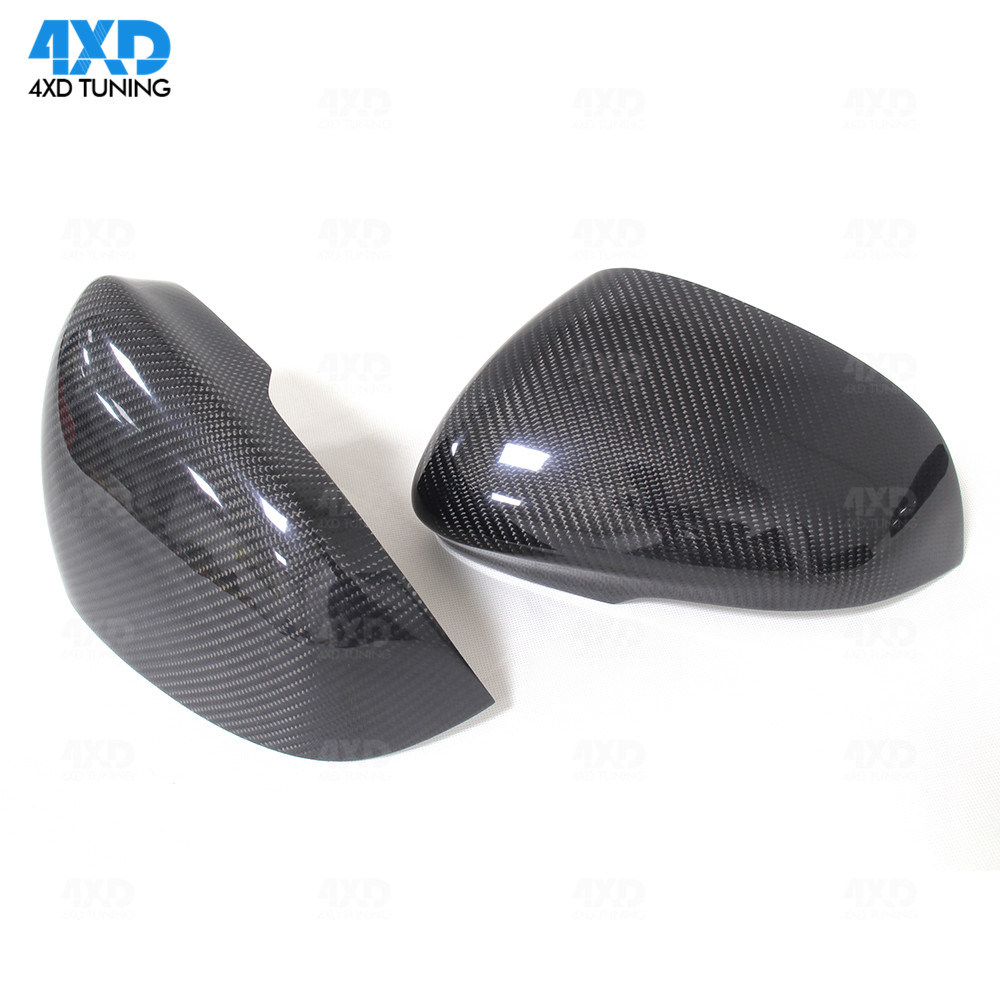 XJ Mirror Cover Replace For Jaguar XE XKR XF XK Carbon Side RearView Mirror Cover 2011