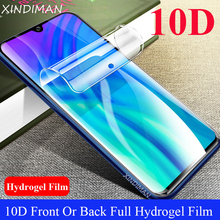 XINDIMAN 10D Full hydrogel film for huawei honor20 honor20i Soft screen protector honor20lite Front+Back honor20pro