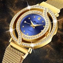 MISSFOX Magnetic Watch Women Luxury Brand Waterproof Diamond
