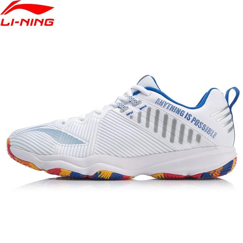 Li-Ning Men RANGER 4.0 TD Professional Badminton Shoes Wearable Support LiNing Li Ning Sport Shoes Sneakers AYTP031 XYY139