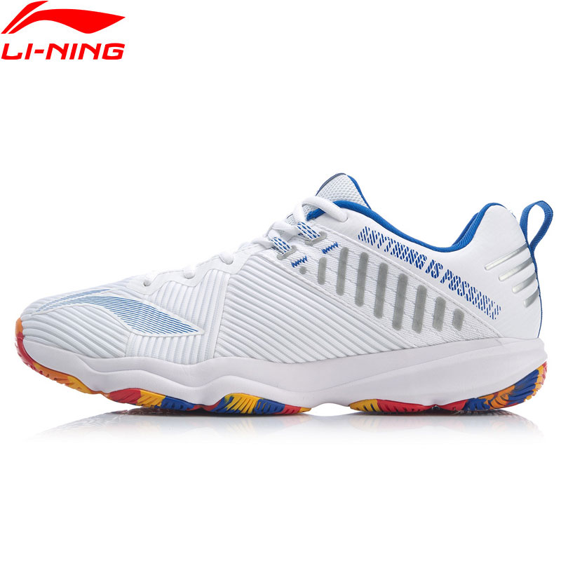 Li-ning hombres RANGER 4,0 TD zapatos de bádminton profesional forro de soporte portátil transpirable zapatillas de deporte Zapatillas AYTP031 XYY139
