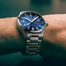 קרנבל זוהר כפול לוח שנה צבאי שוויץ קוורץ שעון גברים יוקרה מותג שעונים עמיד למים שעון Reloj Hombre 2020