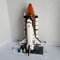 Lepinblocks 16014 Space Shuttle Expedition Building Kits Set Blocks Bricks Compatible legoinglys Children Toys 10231