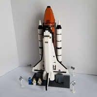 Lepinblocks 16014 espaço shuttle expedição kits de construção conjunto tijolos compatível legoinglys crianças brinquedos 10231