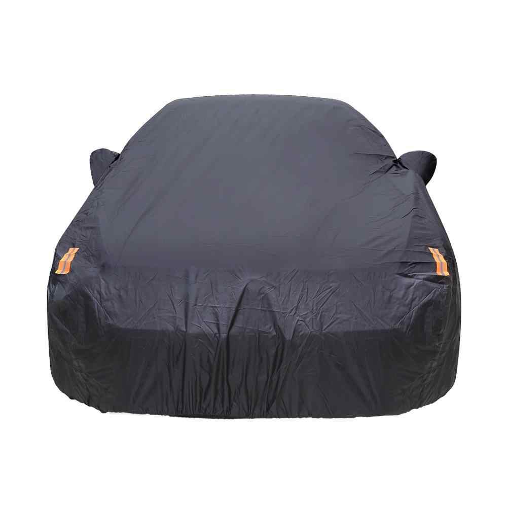 X Autohaux universel pleine bâche de voiture intérieur extérieur Auto bâche de voiture s neige glace imperméable poussière soleil UV ombre couverture voiture réflecteur