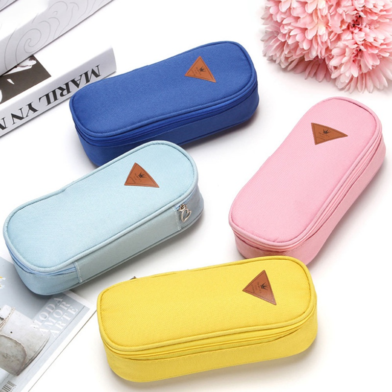 1pcs Sutdent Pencil Cases Large Capacity Flip Pen Pencil Case Office School Creative Stationary Supplies New Arrival