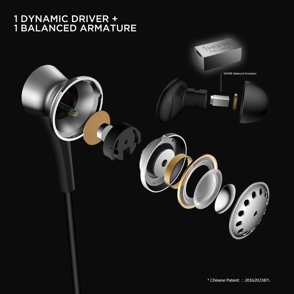 Image 5 - 1MORE E1004BA Dual Driver BT ANC in Ear Earphones Wireless Bluetooth Headset with Active Noise Cancellation, ENC, Fast Charging-in Bluetooth Earphones & Headphones from Consumer Electronics