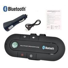 Çok noktalı hoparlör 4.1 + EDR kablosuz Bluetooth Handsfree araç kiti MP3 müzik çalar IPhone Android için Dropship sıcak