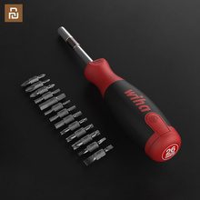 Original Wiha ScrewDriver 26 in 1 Precision Chrome Vanadium Steel ScrewDriver Magnetic Bits Home Kit Repair Tools