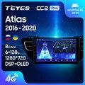 TEYES CC2L и CC2 Plus Штатная магнитола For Джили Атлас NL-3 For Geely Atlas NL-3 2016 - 2020 Android до 8-ЯДЕР до 6 + 128ГБ 16*2EQ + DSP 2DIN автомагнитола 2 DIN DVD GPS мультимедиа автомо...
