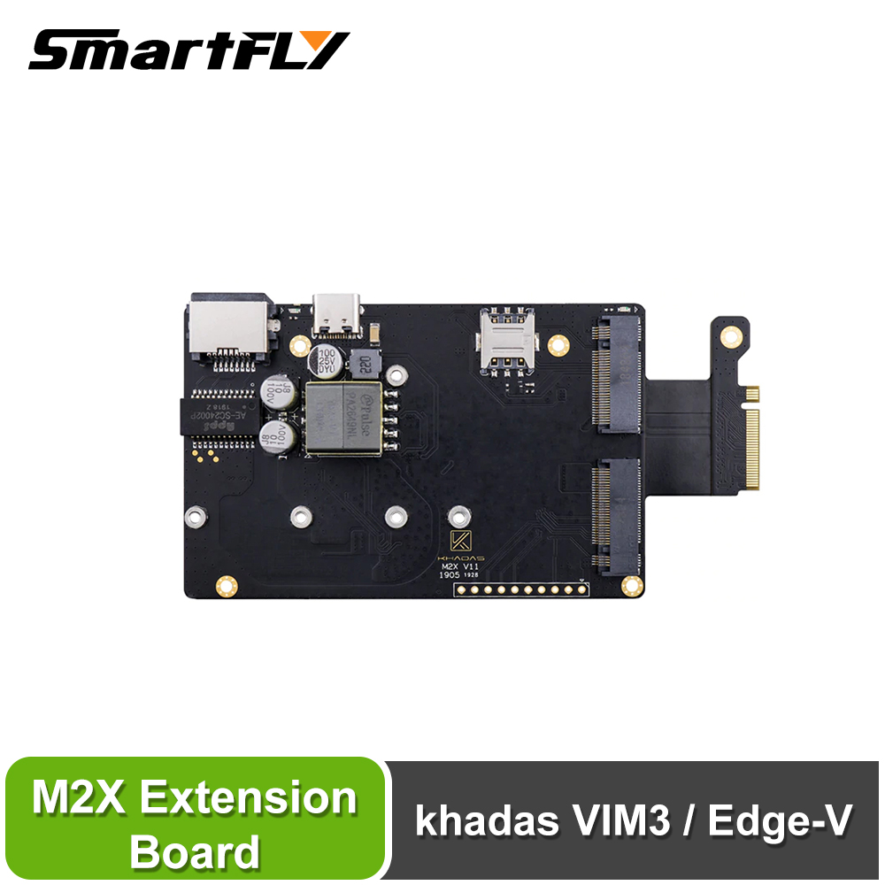 Smartfly Khadas M2X Extension Board For VIM3/ Edge-v