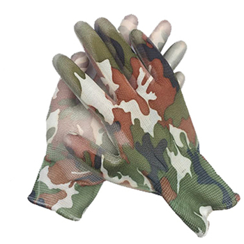 24pairs durable non-slip gardening gloves for garden planting work gloves with printing hand protecter garden gloves wholesale