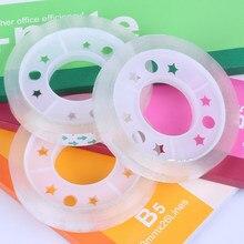 Deli 30001 прозрачная лента для студентов канцелярская лента 8 мм* 30Y клей задняя ширина 0,8 см цены производителя распродажа