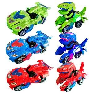 Glow RC Cars Transforming Dino