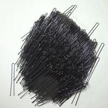 600 шт/лот Новый u образный черный заколка для волос инструмент
