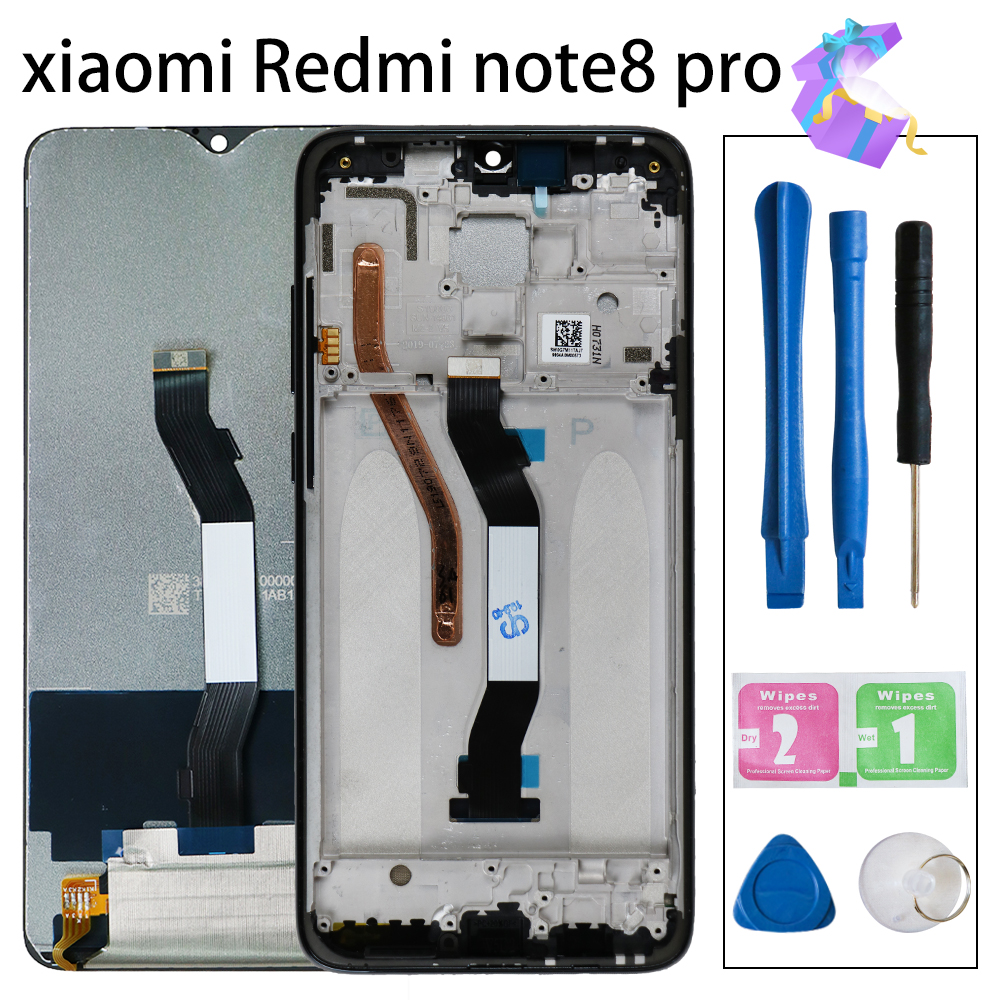 Display For Xiaomi <font><b>Redmi</b></font> <font><b>Note</b></font> 8 <font><b>Pro</b></font> <font><b>LCD</b></font> Display+Touch Screen FHD Digitizer Glass Panel Replacement For <font><b>Redmi</b></font> Note8 <font><b>Pro</b></font> Display image