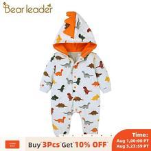 Bear Leader New Baby Boy Clothes Cartoon Dinosaur Jumpsuit N