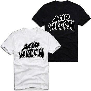 Camiseta E1SYNDICATE ACID WITCH 666 ARCHGOAT HEAVY METAL TOXIC Journey A446, variedad de tamaños y colores