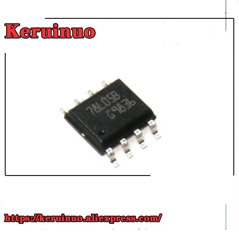 100 Pcs 78L05 SOT-23 3-terminal positivo reguladores Nuevo