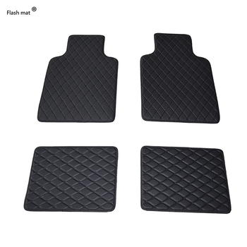 Flash mat Universal car floor mats for BMW e30 e34 e36 e39 e46 e60 e90 f10 f30 x1 x3 x4 x5 x6 1/2/3/4/5/6/7 car accessorie foot image