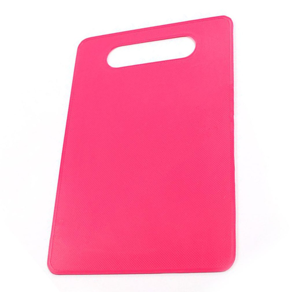 Kitchen Plastic Vegetable Fruits Bread Cutting Board Outdoor Camping Food Cutting Board Non-slip kitchen Chopping Blocks
