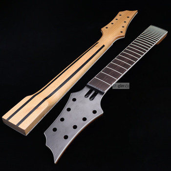 New 8 string Electric Guitar Neck Rosewood fingerboard mahogany Guitar neck assembly DIY  24 Fret Guitar accessories part electric guitar new lp custom shop electric guitar black beaty 3 pickups ebony fingerboard oem brand guitar in china