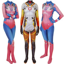 Game Mercy Angela Ziegler Cosplay Costume Zentai Bodysuit Suit Jumpsuits Halloween