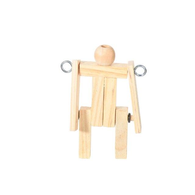 Bricolage gymnastique barre horizontale modèle enfants inventer jouets étudiants Force centrifuge expérience scientifique équipement enfants jouet