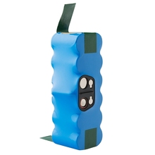 Sweeper Battery Is Suitable for 4000MAh Ni-MH Replacement IRobot Roomba 500,600,700,800,900 Series(Blue)