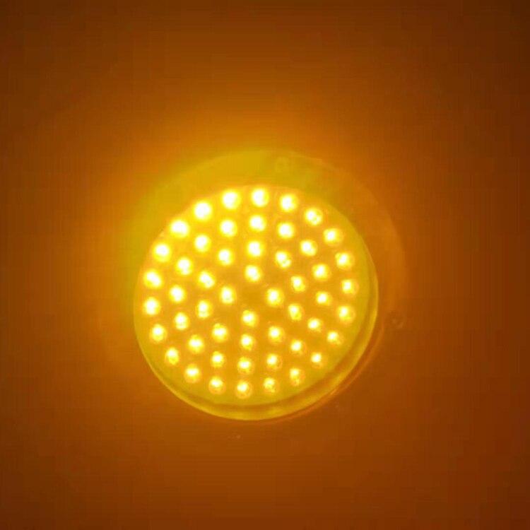 Multi cor 52 leds 15 ° penetra 50 m indicador de atração de peixes de água profunda lâmpada isca led piscando pesca luz