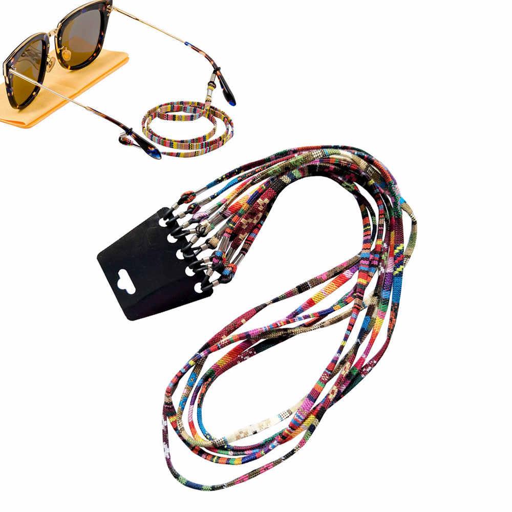 5pcs 안경 선글라스 스펙타클 홀더 넥 코드 블랙 끈 홀더 안경 읽기 안경 안경