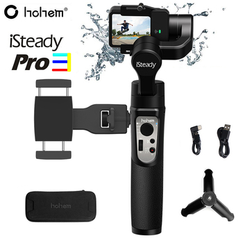Hohem iSteady Pro 3 Splash Proof 3-Axis Handheld Gimbal Stabilizer for GoPro Hero 8/7/6 DJI Osmo RX0 Action Camera Pro 2 Upgrade hohem isteady pro 3 splash proof 3 axis handheld gimbal stabilizer for gopro hero 8 7 6 dji osmo rx0 action camera pro 2 upgrade